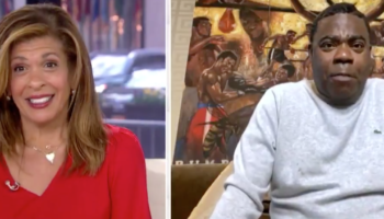 Tracy Morgan Catches 'Today Show' Host Off Guard With His NSFW Answer About How His Family Is Dealing With The Quarantine