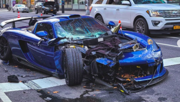 Owner Of Ultra-Rare Porsche Goes For Joy Ride On Locked Down Manhattan Streets, Totals His Car