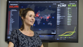 'Every Day Is A New Surprise': Inside The Effort To Produce The World's Most Popular Coronavirus Tracker