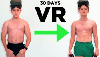 A YouTuber Attempts To Get Ripped In 30 Days By Using Only Virtual Reality-Based Body Weight Workouts