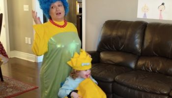 A Quarantined Family Filmed A Scene-For-Scene Remake Of 'The Simpsons' Intro Because That's The Way We Live Now