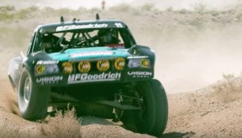 The Insane Suspension Systems On Off-Road Race Cars, Illustrated In Slow Motion