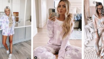 Why Is Every Influencer Wearing A Tie-Dye Sweatsuit In Quarantine?