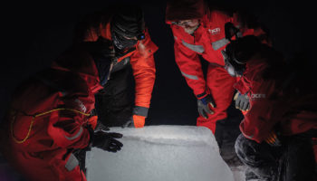 A Year-Long Expedition Spotlights Night Life In The Arctic Winter