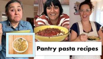Professional Cooks Demonstrate 13 Different Ways To Make Interesting Pasta With What's In Your Pantry