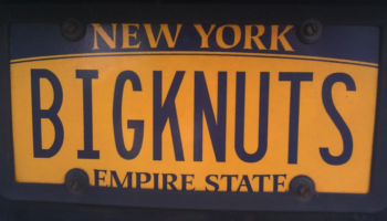 Banned Personalized License Plates
