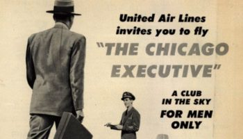 Remembering The Time United Airlines Offered A Men-Only Flight
