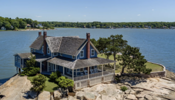 Want A Private Island? You Can Have This One With A Historic Cottage For $1.5M