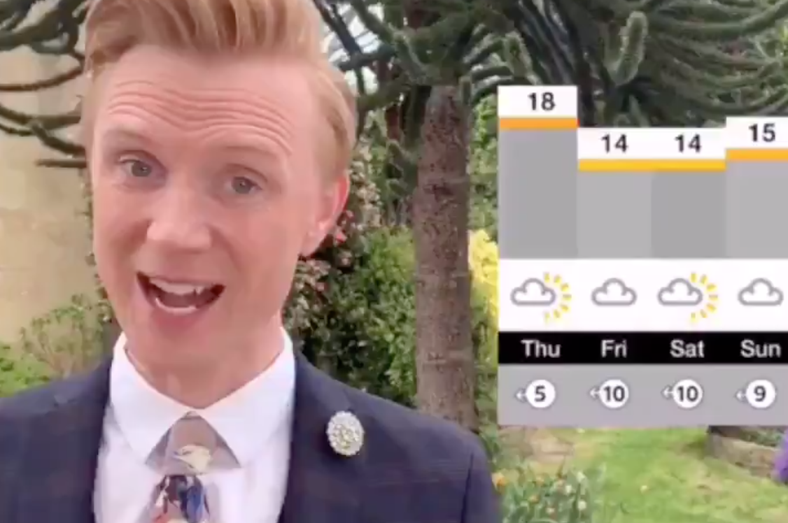 BBC Weatherman Closes Off His Forecast With Unexpected Drum Cover Of BBC's Outro Music