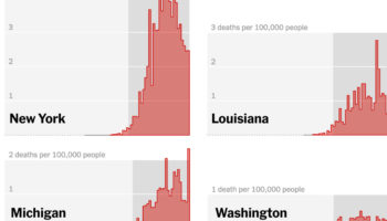 State By State: Comparing Coronavirus Death Rates Across US