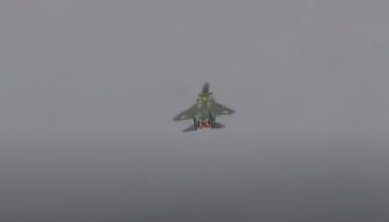This F-15's Vertical Takeoff Maneuver Is Wild