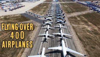 Guy Discovers Where The Airlines Parked All Of Their Jumbo Jets During The Coronavirus Pandemic