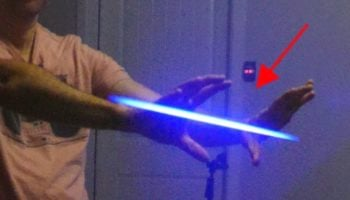 YouTuber Found A Way To Slow Down Light So It Looks Like The Laser Guns From 'Star Wars'