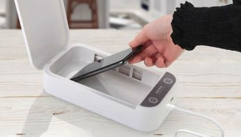 Save Over 60% Off This Phone-Cleaning UV Sanitizer And Keep Your Smartphone Germ-Free