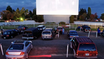 Restaurants Are Turning Their Parking Lots Into Drive-In Theaters