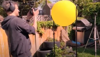 Backyard Scientist Discovers He Can Manipulate Sound Waves Using Balloons As Acoustic Lenses