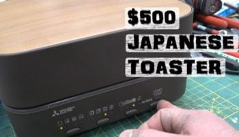 What's Under The Hood Of This $500 Japanese Toaster?
