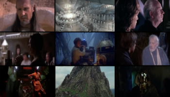 Now You Can Watch All The Star Wars Movies Playing Simultaneously, On A Single Nine-Panel Screen