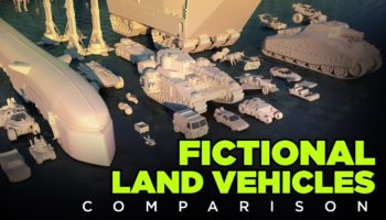 This Video Really Puts Into Perspective The Sizes Of Fictional Land Vehicles In Popular Culture