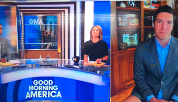 'Good Morning America' Segment Accidentally Becomes NSFW When Camera Shows Reporter In Very Short Shorts
