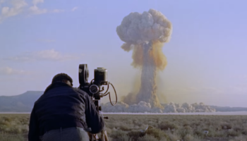 This Footage Of A Cameraman Filming A Nuclear Test And Getting Hit By The Shockwave Is Truly Wild