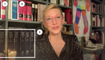 What Do Famous People's Bookshelves Reveal?