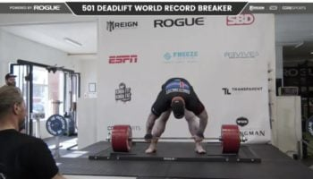 Watch The Mountain From 'Game Of Thrones' Break The World Deadlift Record