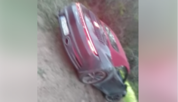 Porsche Driver Makes The Questionable Decision To Offroad On A Mountain Bike Trail