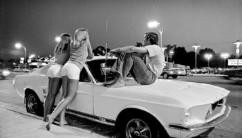 Cruising Van Nuys Boulevard In The Summer Of 1972 In Stunning Black And White Photos