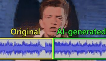 Someone Put Rick Astley's 'Never Gonna Give You Up' Through A Neural Network To Keep Generating More Of The Song And It Kind Of Slaps