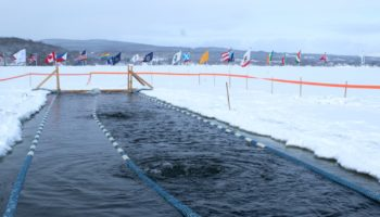 The Frigid World Of Competitive Ice Swimming