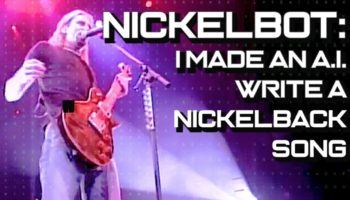 A Mad Genius Plugged All Of Nickelback's Lyrics Into An Artificial Intelligence Framework And The Result Might Be Their Best Song
