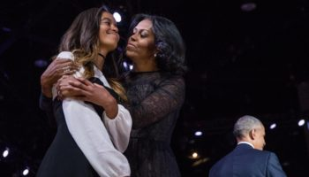Malia Obama Gets Candid In Michelle Obama's 'Becoming'