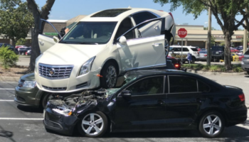 How This Florida Man Landed His Car On Top Of Two Others: An Investigation