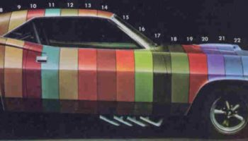 Guy Turns 1970 Brochure Rendering (Used To Help Buyers Pick A Color) Into Actual Car's Paint Job