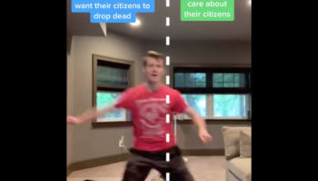 Guy Does A 50 States Song Dance Based On Whether Or Not The State Cares About Their Citizens' Wellbeing