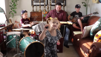 Family Plays Beatles' 'Come Together,' And It Totally Slaps