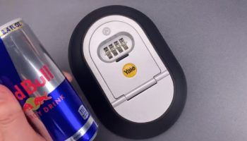 Lock-Picking Expert Easily Breaks Into This Poorly Designed Lockbox With A Red Bull Can