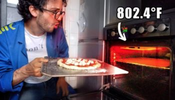 Guy Finds A Way To Hack His Stove Into Becoming A Professional Pizza Oven
