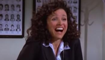 Watch Jerry Stiller Make Julia Louis-Dreyfus Laugh So Hard She Breaks Character In 'Seinfeld' Blooper