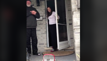 This Hilarious Quarantine Prank Video Is The Most Canadian Prank We've Ever Seen