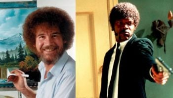 Someone Synced Up Bob Ross's Voice To Samuel L. Jackson's Ezekiel 25:17 Scene In 'Pulp Fiction' Using Text-To-Speech