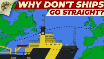 Why Do Ships Go In Circles Instead Of Straight Lines?