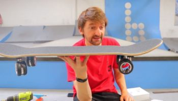 This Guy Took Apple's $700 Mac Pro Wheels And Slapped Them Onto A Skateboard