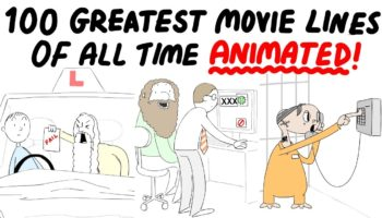 Animator Animates The 100 Most Iconic Movie Quotes, Each With A Funny Twist