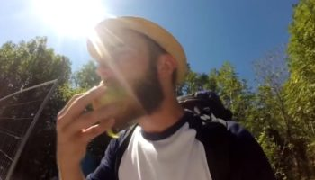 Man Attempts To Live Off The Land For One Day, Instantly Regrets The Challenge