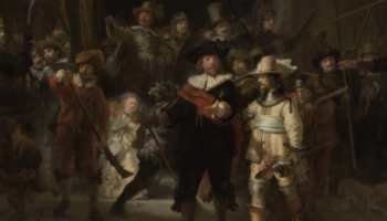 Most Detailed Ever Photograph Of 'The Night Watch' Goes Online