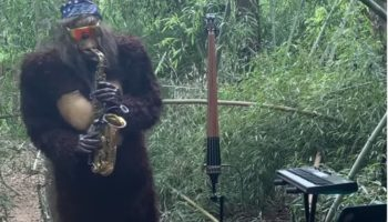 A Saxophone-Playing Sasquatch Plays A Funky Cover Of Daft Punk's 'One More Time'