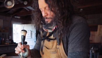 Blind Craftsman Demonstrates His Talent For Making Works Of Art Out Of Wood