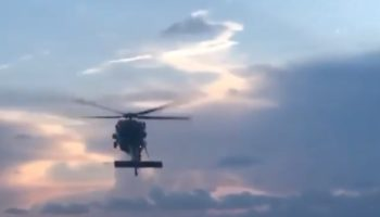 Watch This Black Hawk Helicopter Go… Straight Up